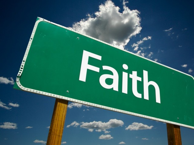 Faith is begins the journey and is the destination.
